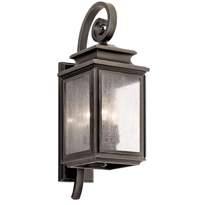 Wiscombe Park Outdoor Wall 3 Light - Olde Bronze