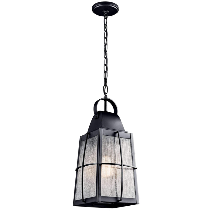 Tolerand Outdoor Pendant 1 Light - Textured Black