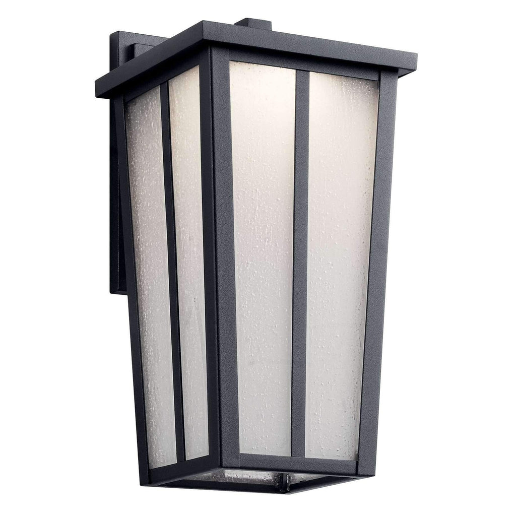 Amber Valley Outdoor Wall 1 Light LED - Textured Black
