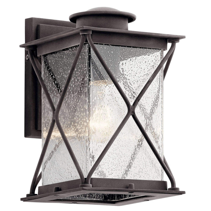 Argyle Outdoor Wall 1 Light - Weathered Zinc