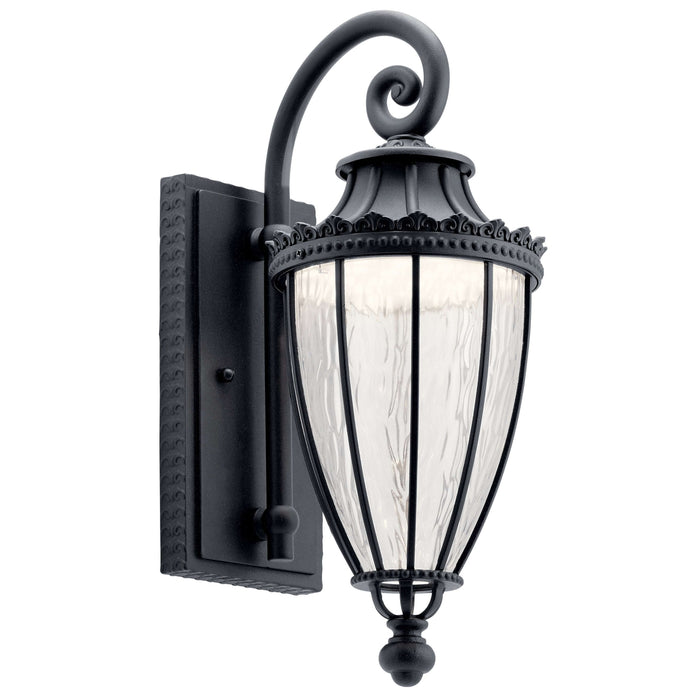 Wakefield Outdoor Wall 1 Light LED - Textured Black