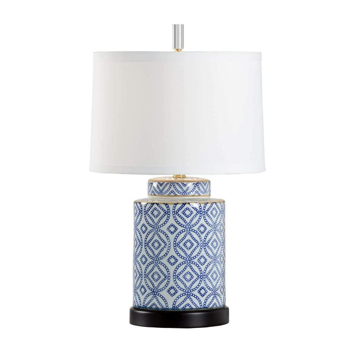 Eleanor Lamp - Blue