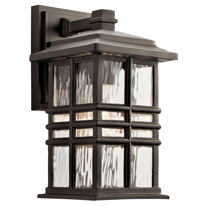 Beacon Square Outdoor Wall 1 Light - Olde Bronze