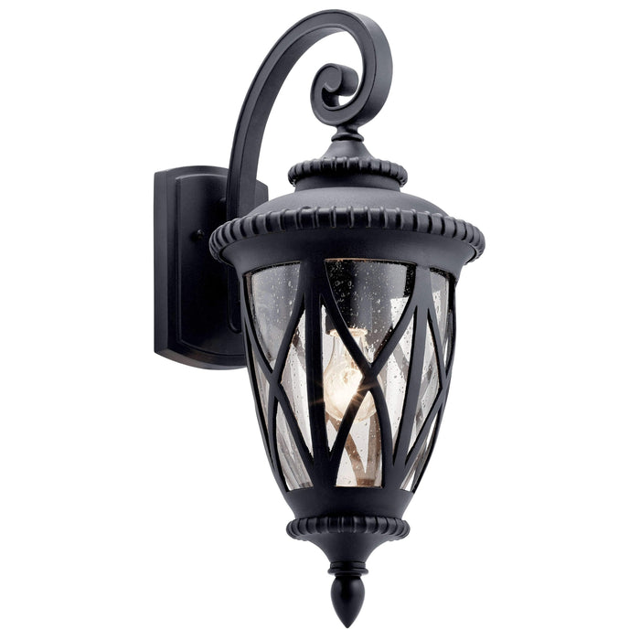 Admirals Cove Outdoor Wall 1 Light - Textured Black