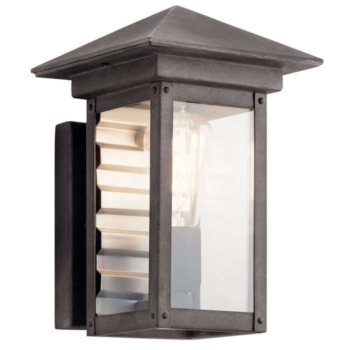 Wayland Outdoor Wall 1 Light - Weathered Zinc