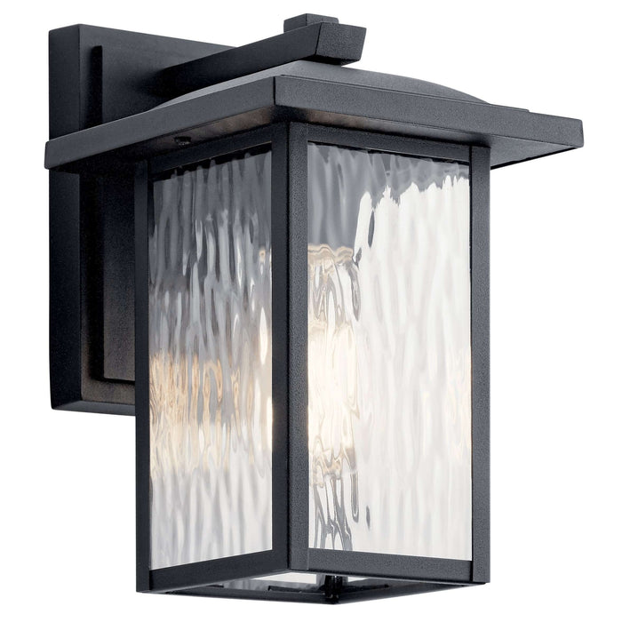 Capanna Outdoor Wall 1 Light - Textured Black