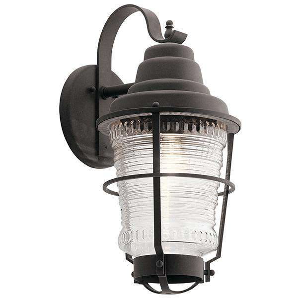 Chance Harbor 1 Light Outdoor Wall Sconce - Weathered Zinc