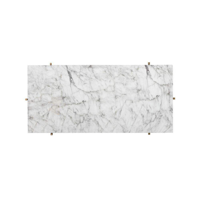 Solana Coffee Table - Rectangular - Marble Look