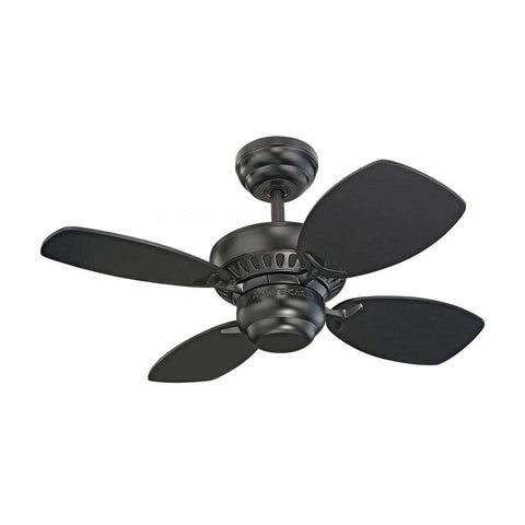 "28"" Colony Ii Fan - Black"