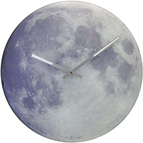 Blue Moon Wall Clock by NeXtime