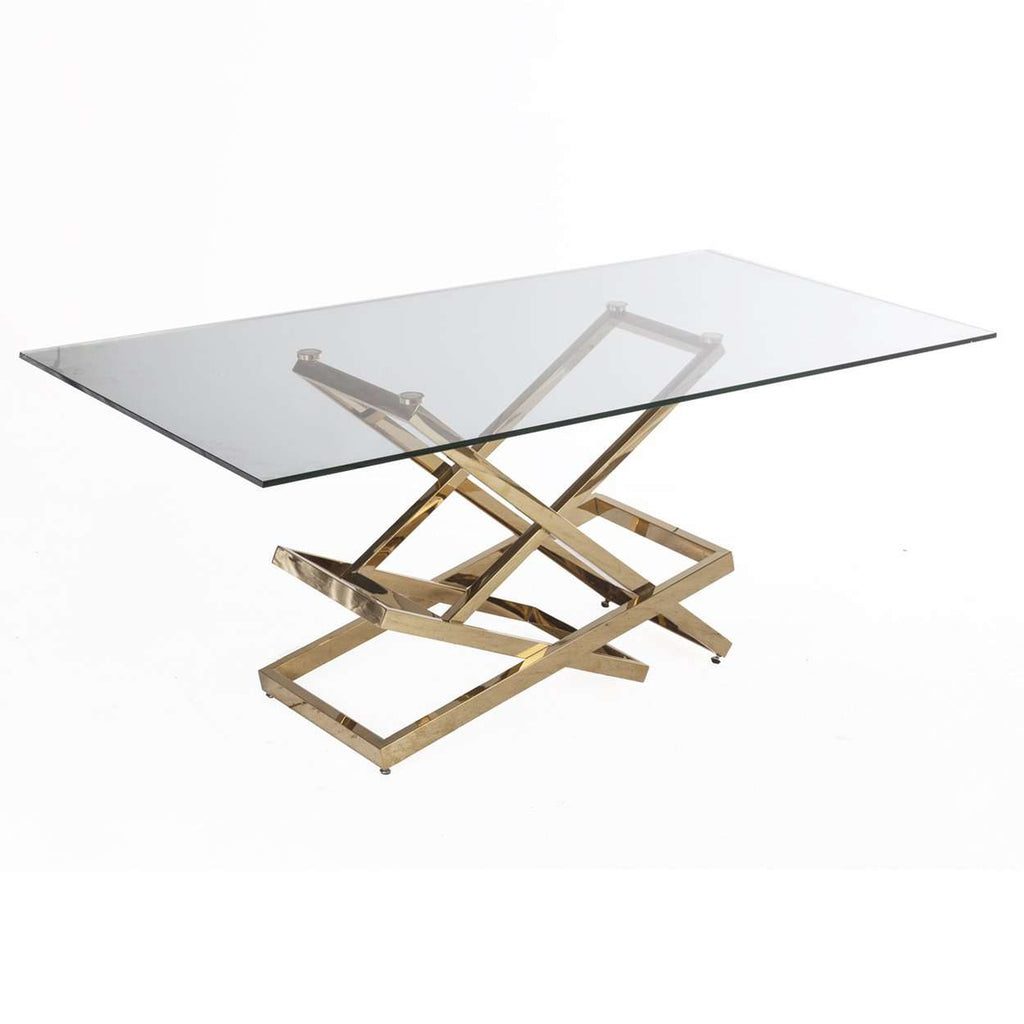 Mid-Century Modern Gigli Dining table - Gold