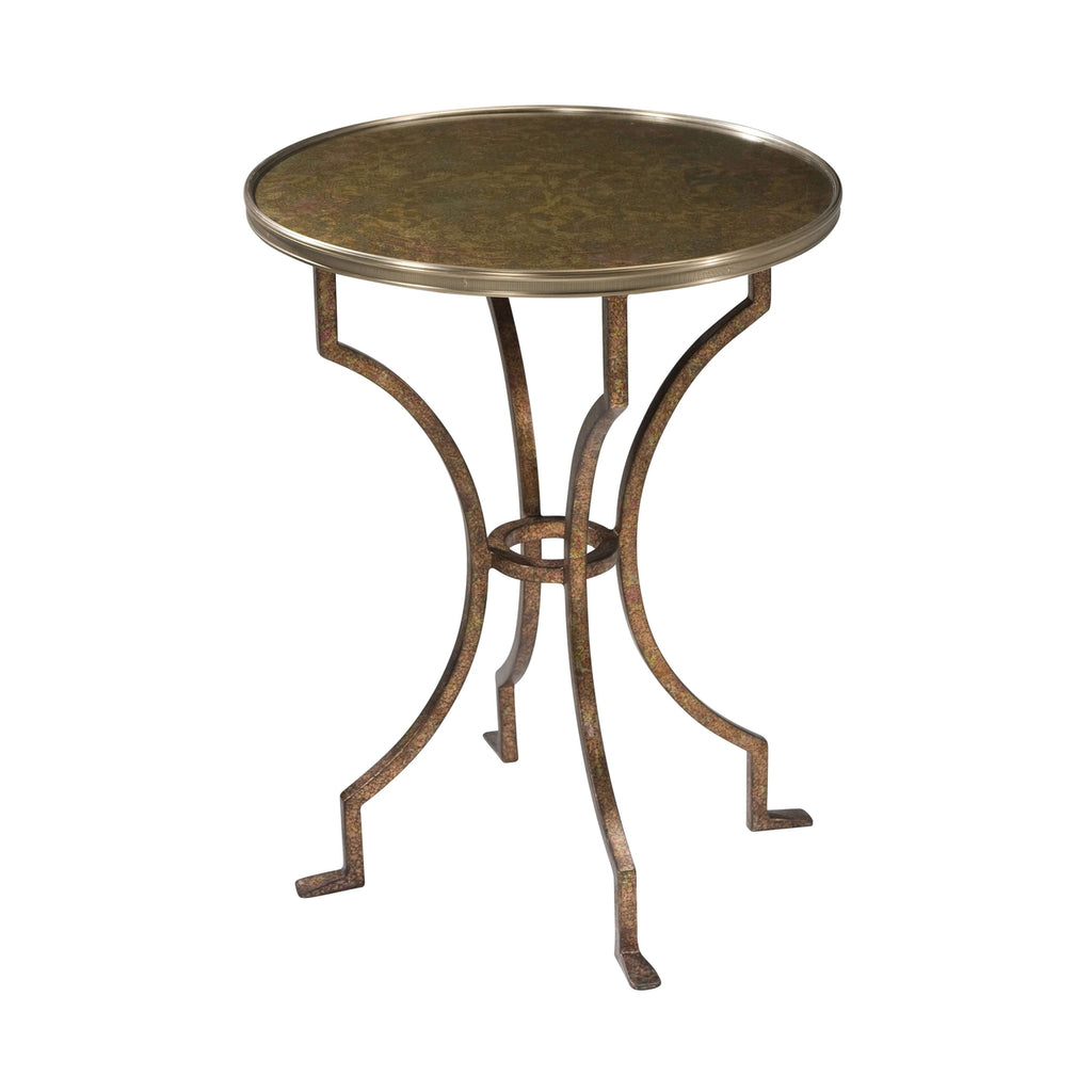 French Opalescence Lamp Table