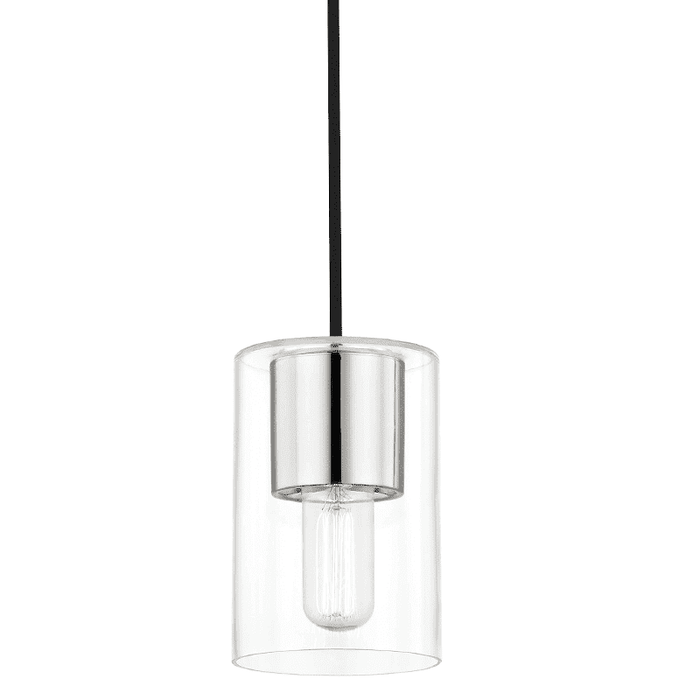 Lula 1 Light Pendant - Polished Nickel
