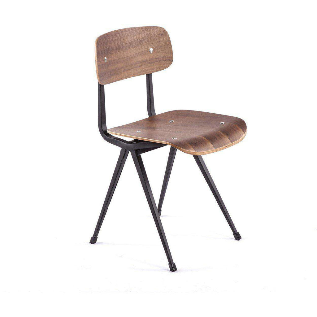 Mid-Century Modern Reproduction Warnitz Industrial Result Side Chair Inspired by Friso Kramer