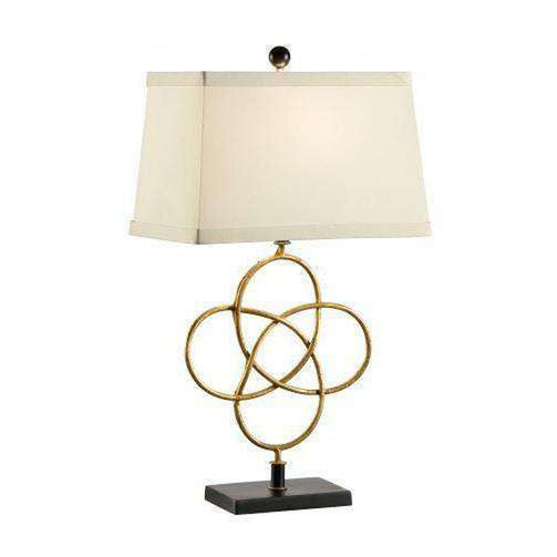 Chelsea House Loose Knot Lamp - Gold