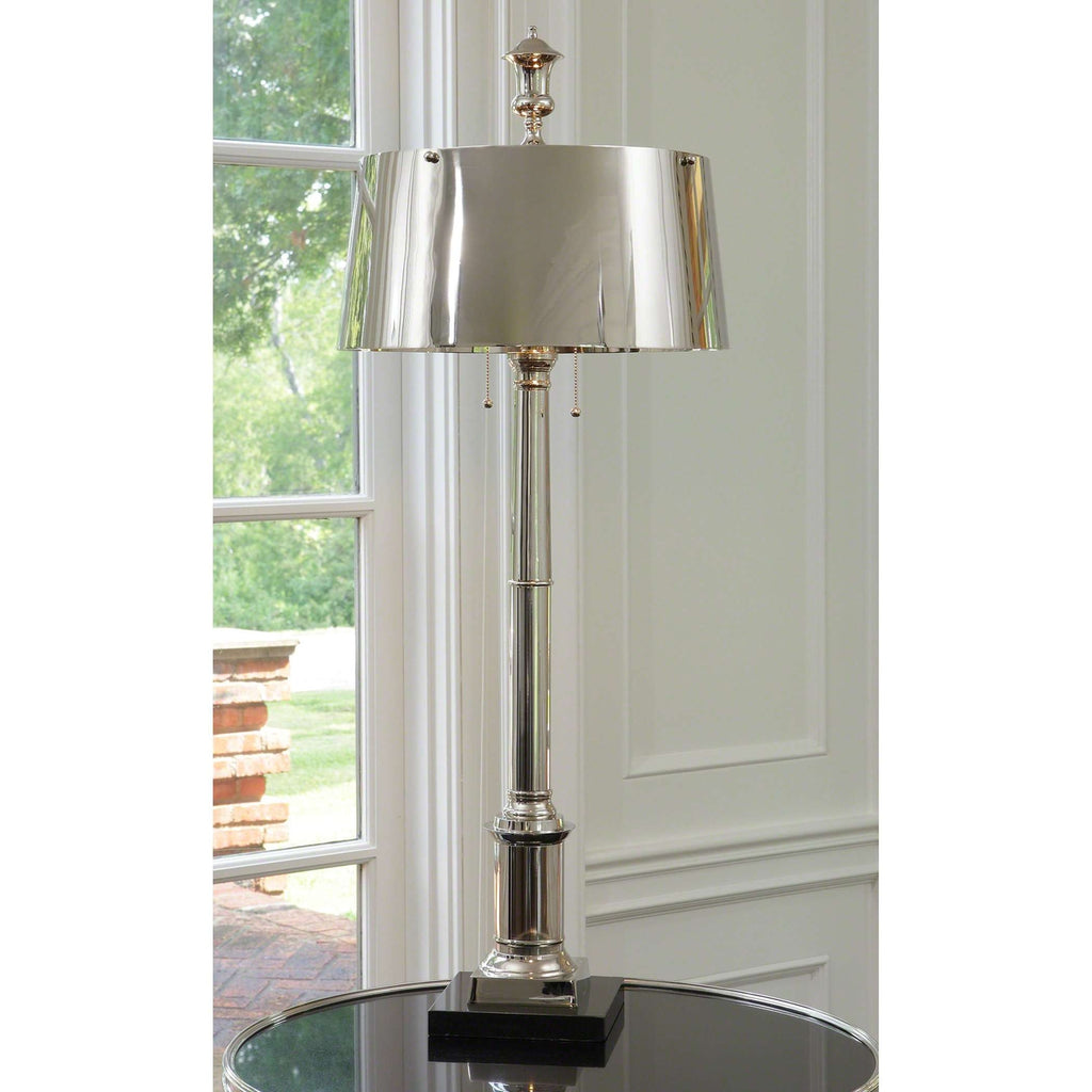 Library Lamp - Nickel