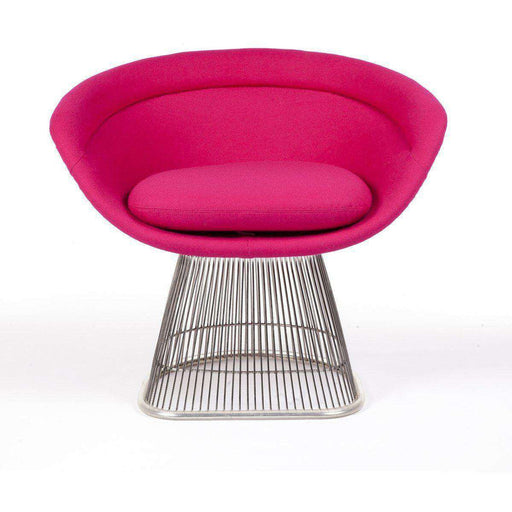 Platner Lounge Chair Upholsteryed FB7419ROSE
