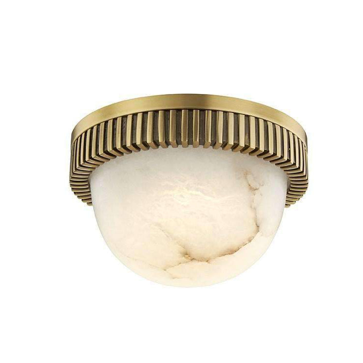 Ainsley Led Flush Mount Aged Brass