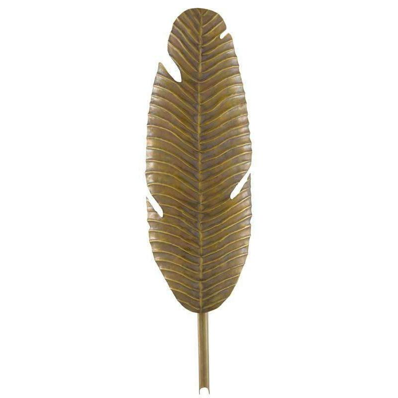 Tropical Leaf Wall Sconce