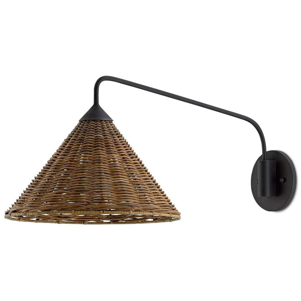 Basket Swing Arm Sconce