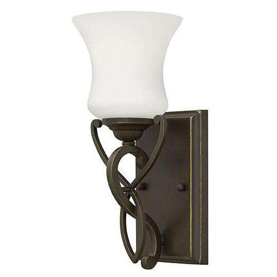 Bath Brooke Bath Sconce Olde Bronze