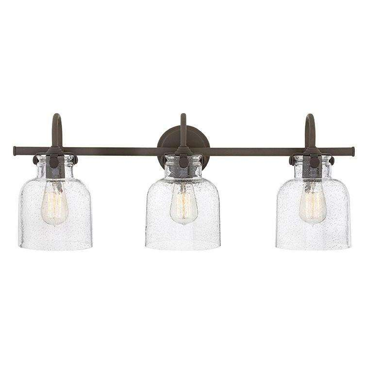 Bath Congress Bath Three Light Oil Rubbed Bronze