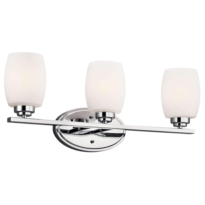 Eileen Bath 3 Light - Chrome