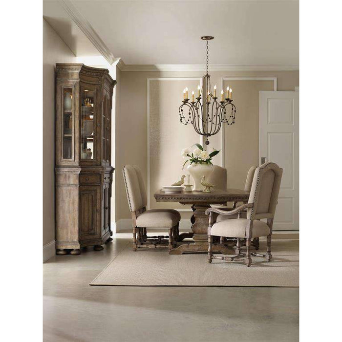 Sorella Rectangle Dining Table w/2-18'' leaves