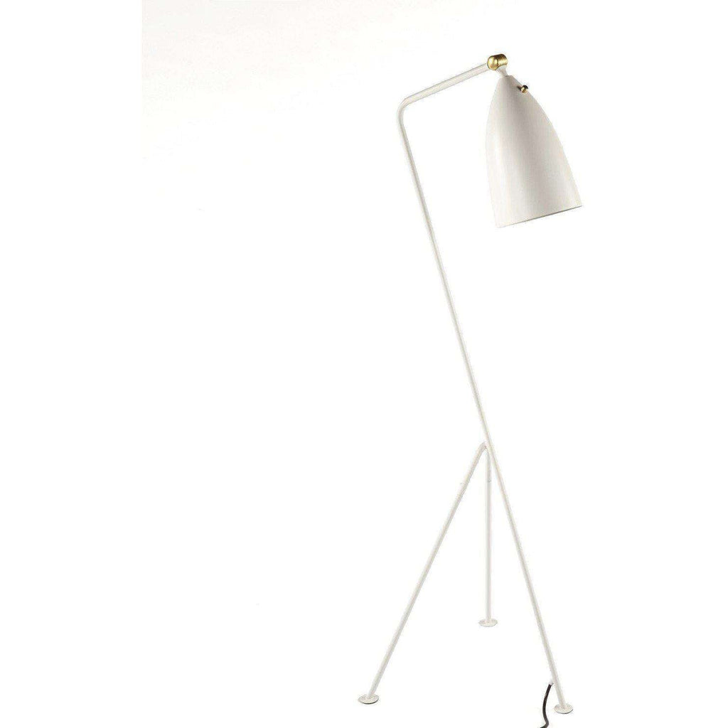 Grasshopper Floor lamp White