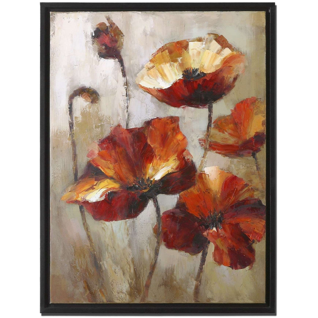 Uttermost Window View Floral Art