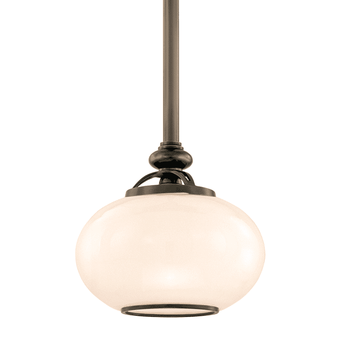 Canton 1 Light Pendant Old Bronze