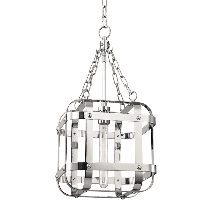 Colchester 1 Light Pendant Polished Nickel