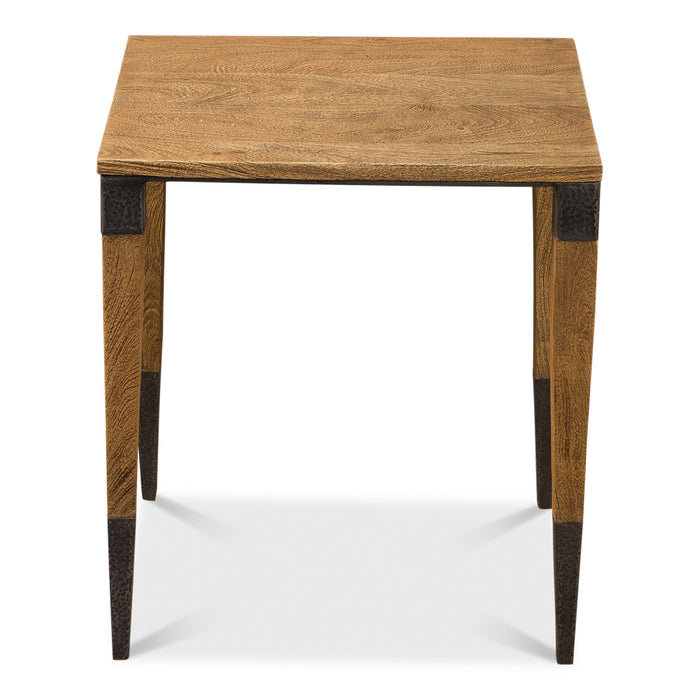 Saber Leg Chairside Table - Square