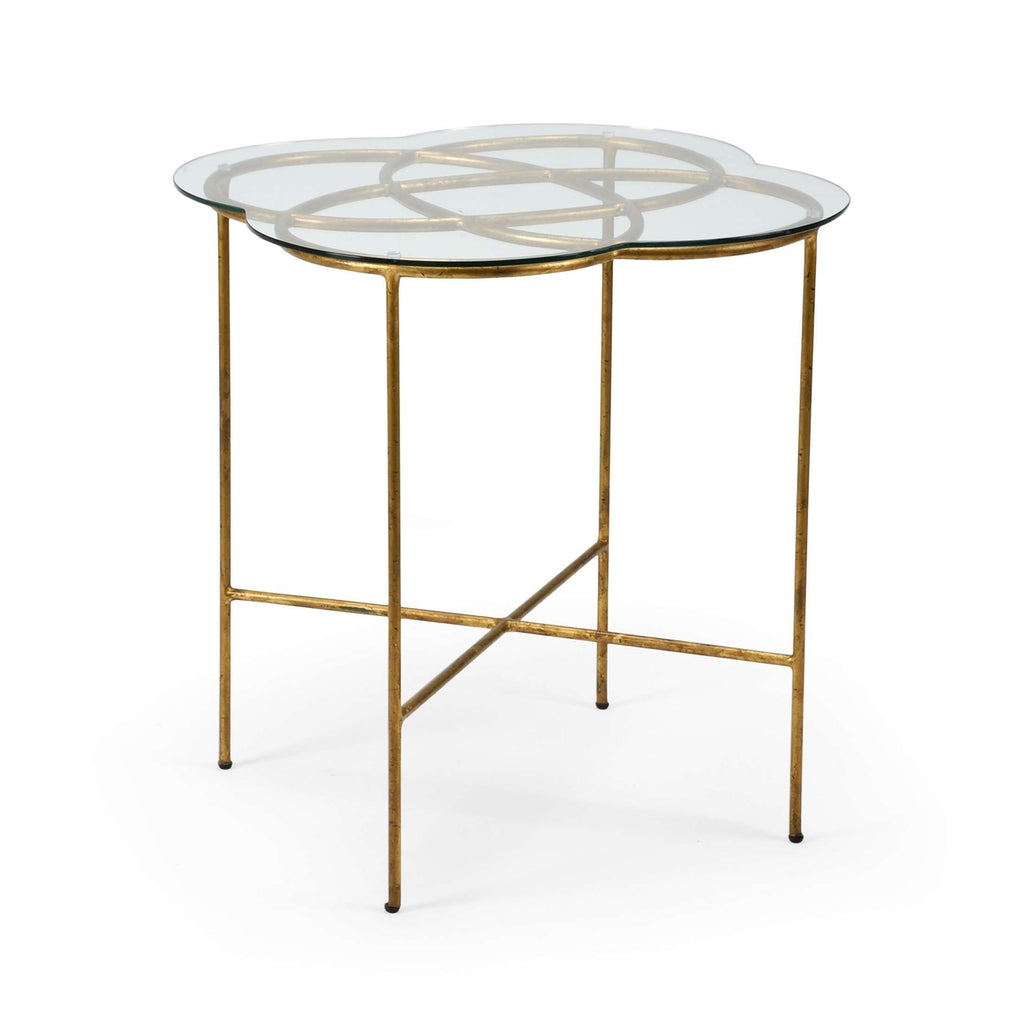 LOVE KNOT SIDE TABLE - GOLD