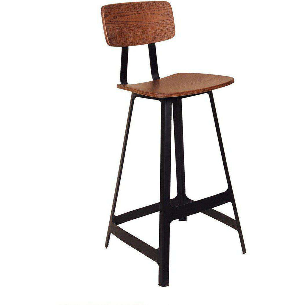 Mid Century Barstool - Black  *Free Local Shipping Only*****