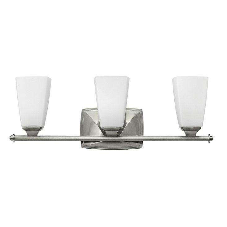 Bath Darby Bath Three Light Brushed Nickel