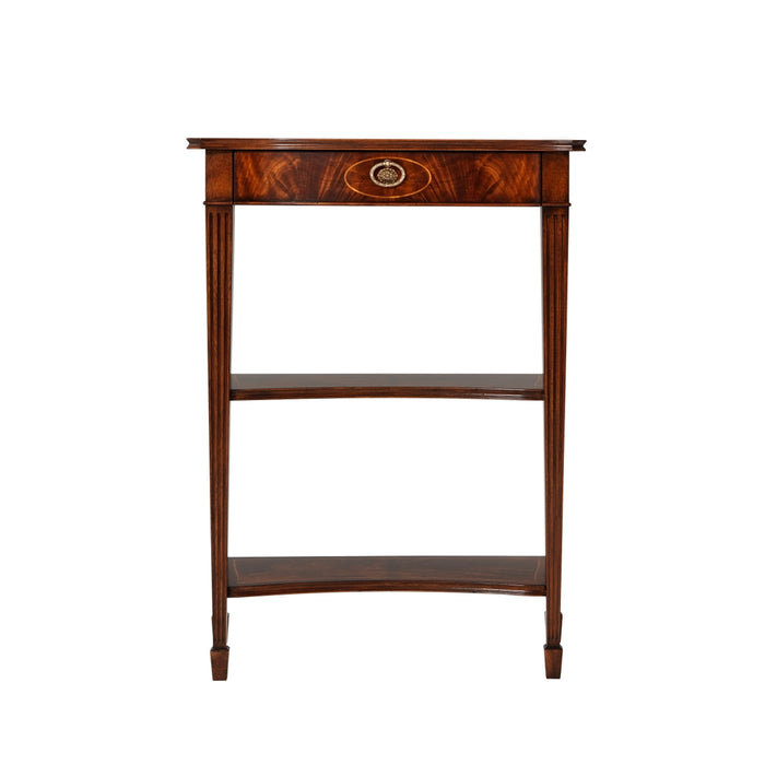 The Small Three Tier Georgian Accent Console Table