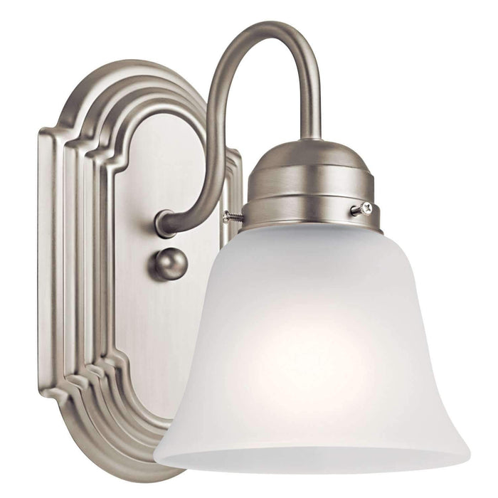 Wall Sconce 1 Light - Brushed Nickel