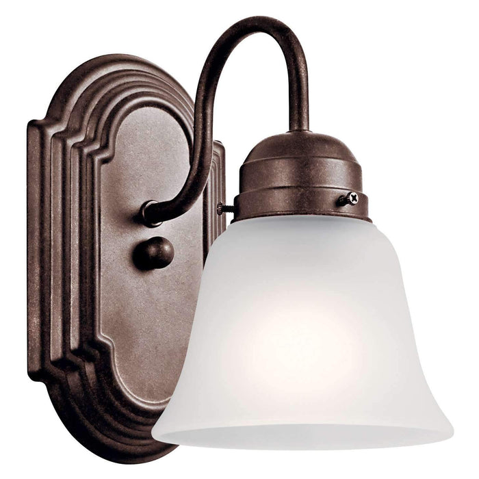 Wall Sconce 1 Light - Tannery Bronze