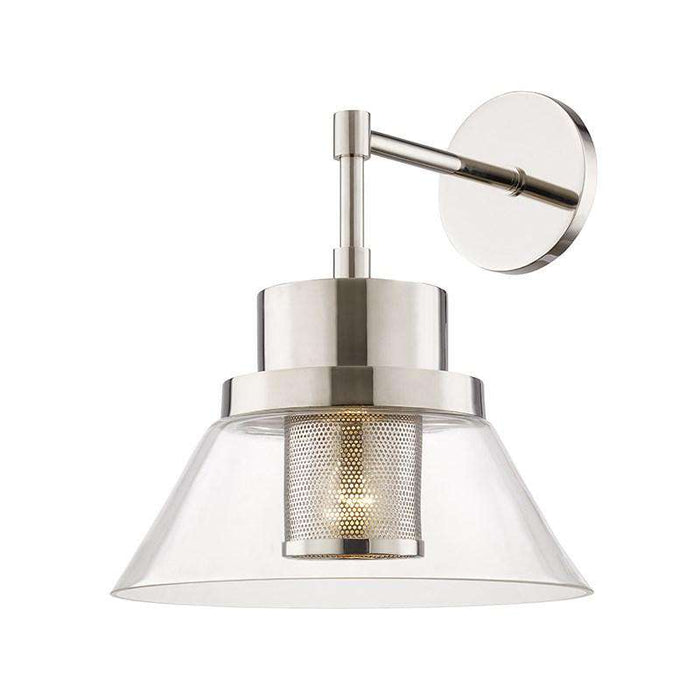 Paoli 1 Light Wall Sconce Polished Nickel