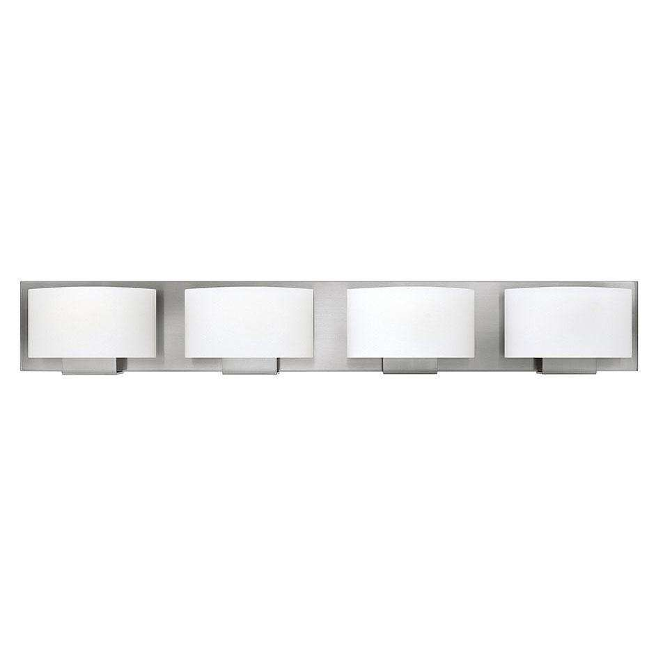 Bath Mila Bath Four Light Brushed Nickel
