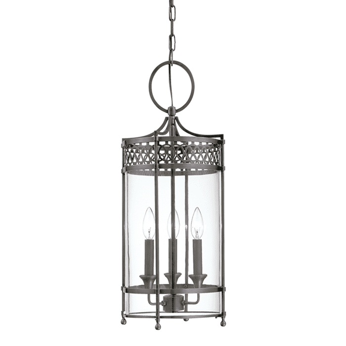 Amelia 3 Light Pendant Antique Nickel