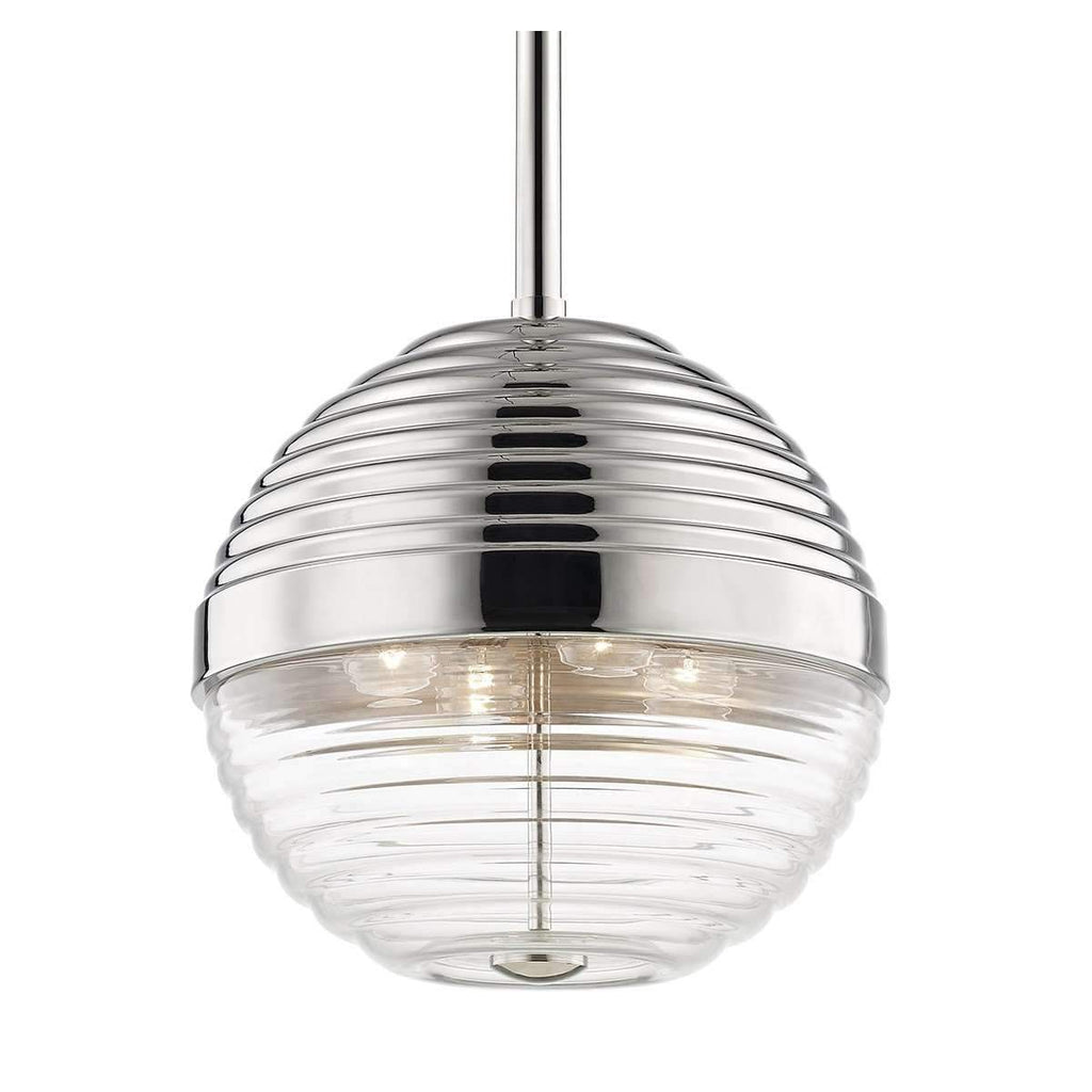 Easton 4 Light Large Pendant Polished Nickel