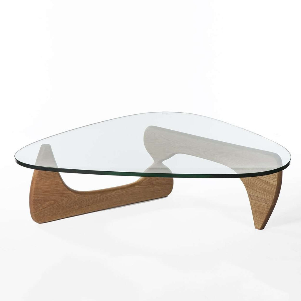 MidCentury Modern Reproduction Noguchi Coffee Table Oak Inspired