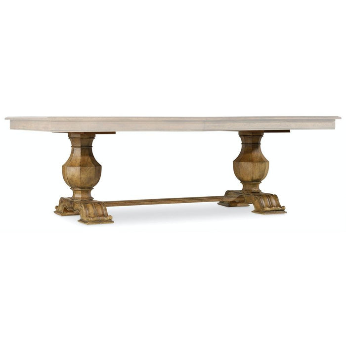 Sanctuary Rectangle Trestle Dining Table Base