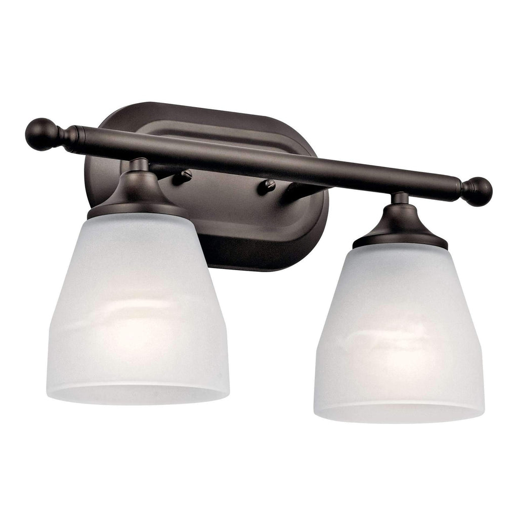 Ansonia Bath 2 Light - Olde Bronze