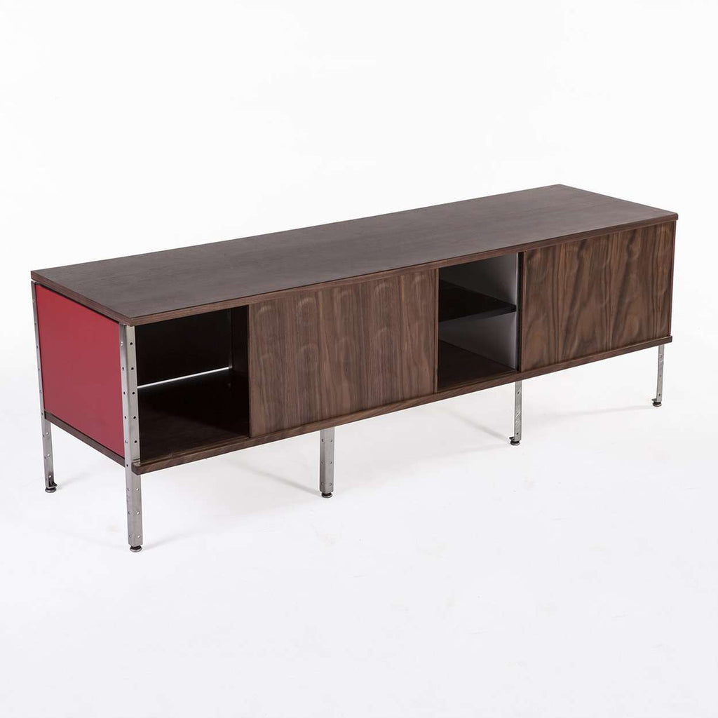 Perfect Mid Century Modern Reproduction Mid Century Storage Unit   Long Inspired By  Charles And Ray