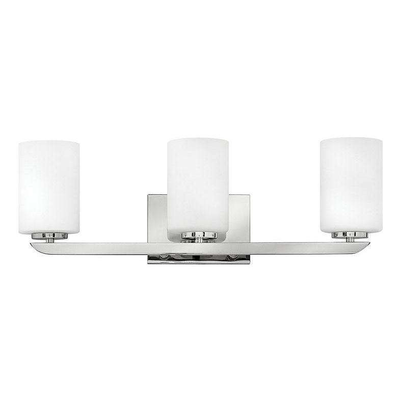 Bath Kyra Bath Three Light Polished Nickel