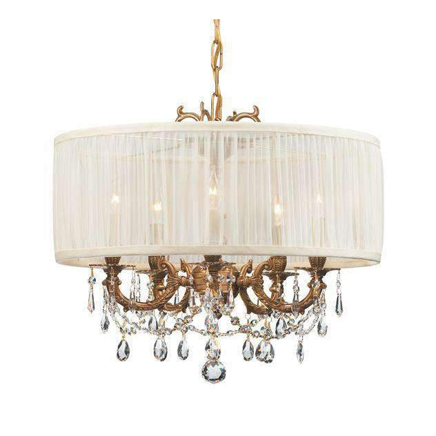 Gramercy 5 Light Drum Shade Mini Chandelier