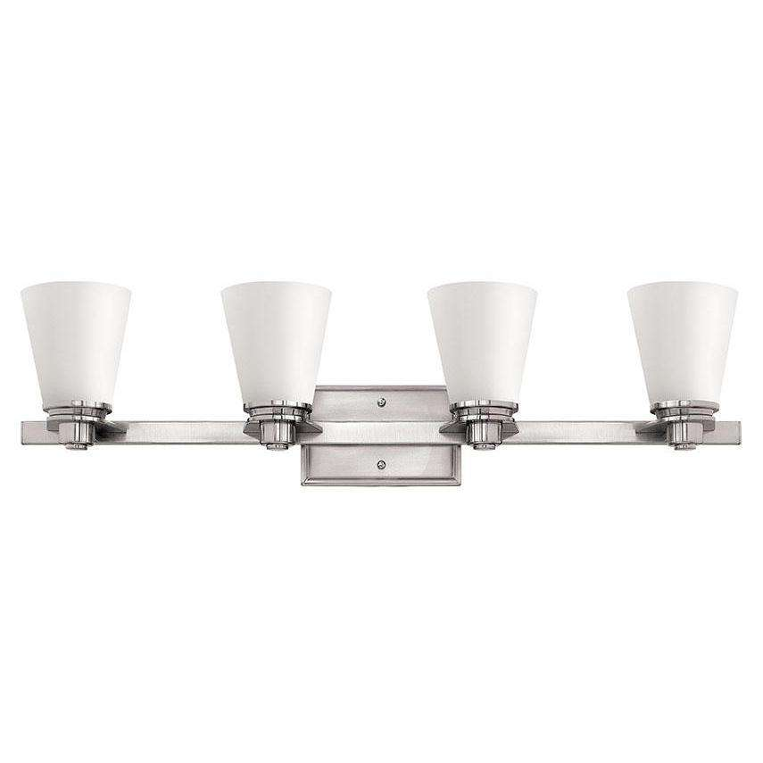 Bath Avon Bath Four Light Brushed Nickel